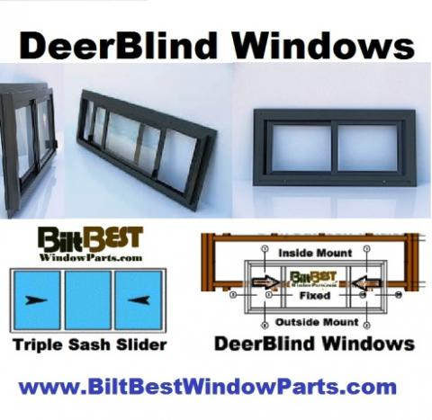 NEED DEERBLIND WINDOWS - and you're in a hurry?