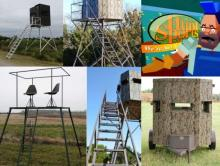 Bow Hunting Blinds, Deerstands, Ground Blinds, Elevated Shooting Towers  Shipping Nationwide