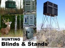 Offering Georgia whitetail deer hunters a wide selection of deer and wildlife feeders, fish feeders, hunting stands and blinds.