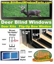 looking for the best value in hunting blind and deer stand windows and doors.