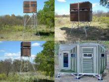 Offering Florida whitetail deer hunters a vast array of deer and wildlife feeders, fish feeders, stands and blinds.