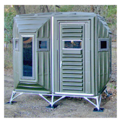 The Blynd - 4X8 Deer Hunting Blinds and Stands | All Your