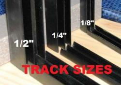 E-Z Slider Deerblind Window Track Package for 1/8